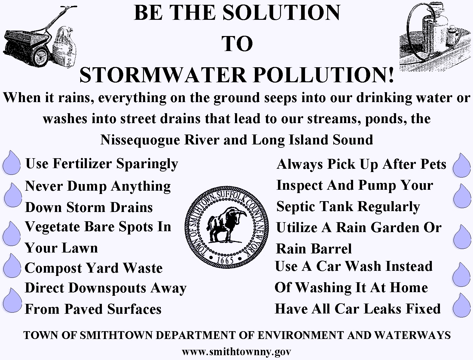 Stormwater Pollution Prevention Flyer