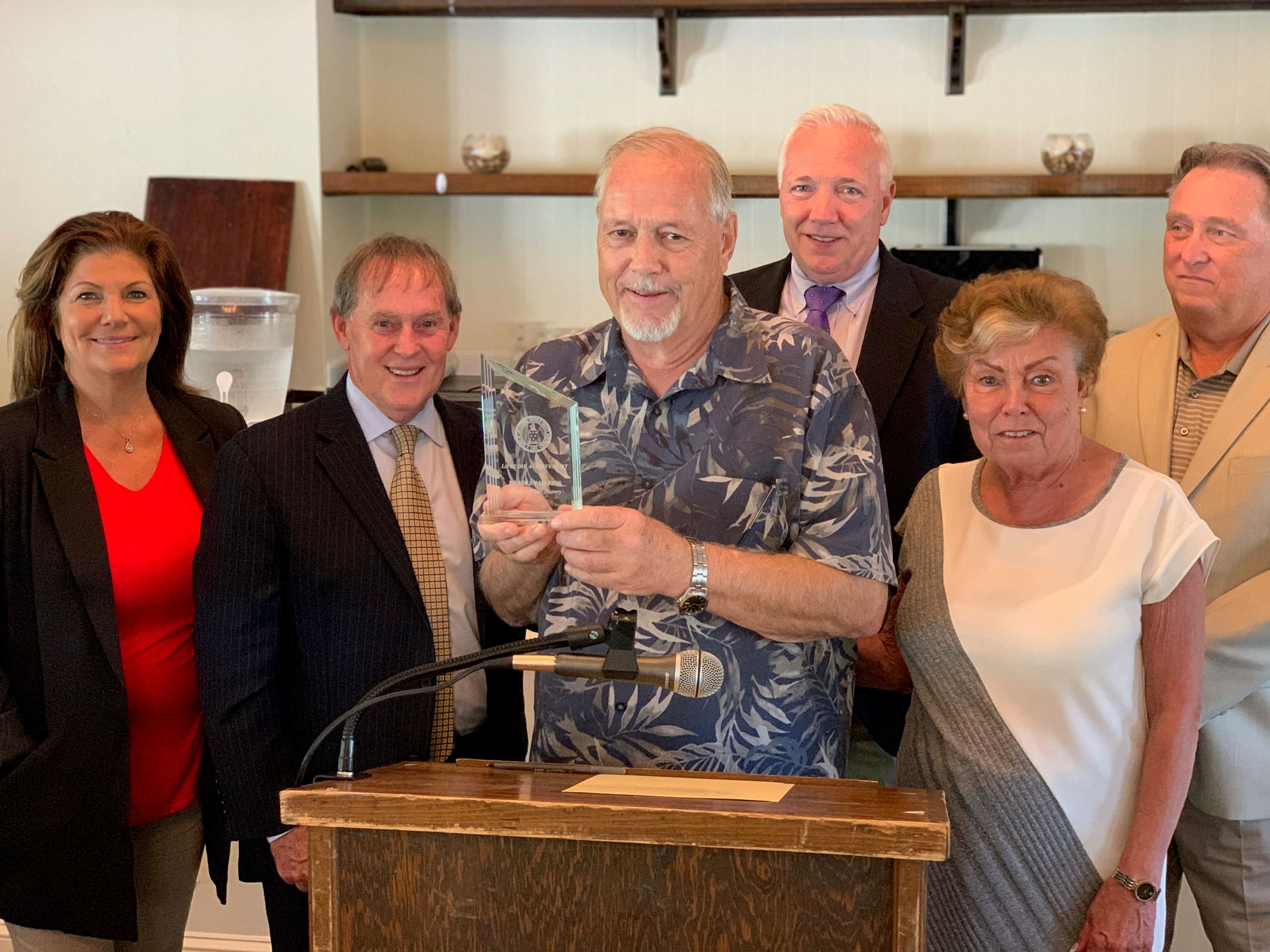 Brad Harris Receives Lifetime Achievement Award